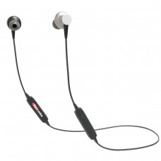 Portronics POR-794 Harmonics 204 Inline In-ear Bluetooth Stereo Earphones With Magnetic Latch (Black)