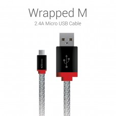 Portronics - Wrapped M Micro USB Cable