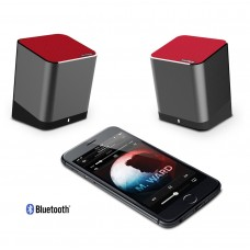 Trendwoo Twins Bluetooth Wireless Speaker, Support 2.0 Left and Right Stereo Sound Surround with Built in Microphone Hands-free Music Player