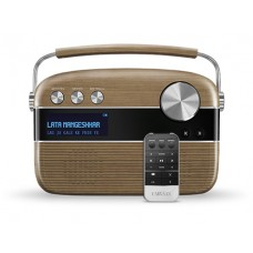 SAREGAMA - Carvaan Digital Audio Player With Remote (Walnut Brown)